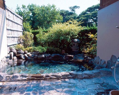 貸切天然温泉